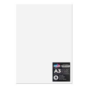 A3 Mount board - Zieler Art Supplies