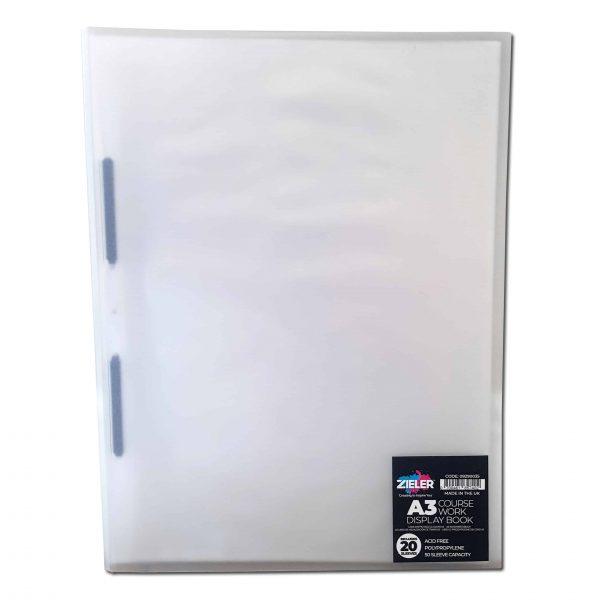 A3 Refillable Display Book (20 Pockets) - Zieler Art Supplies