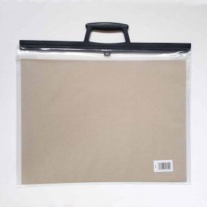 A3 Art Bag / Carry case (Clear) - Zieler Art Supplies