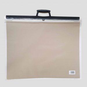 A2 Art Bag / Carry case (Clear) - Zieler Art Supplies