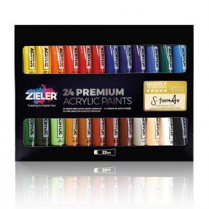 22Ml Paint Box - Zieler Art Supplies