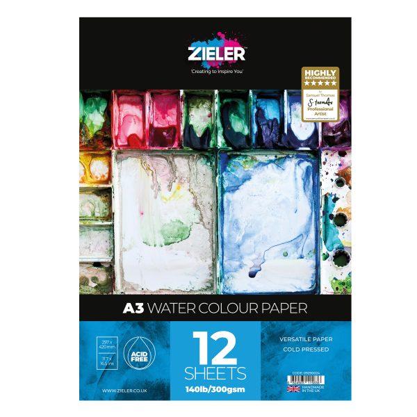 A3 Watercolour Paper 300Gsm
