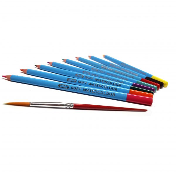 Watercolour Pencil Set Wrap