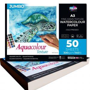 Zieler Aquacolour Jumbo Watercolour Paper Pad