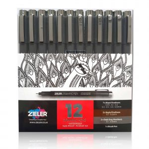 Zieler Fineliner Drawing Pens