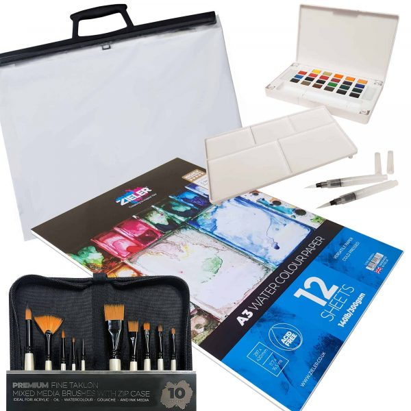 Complete Watercolour Painting Set