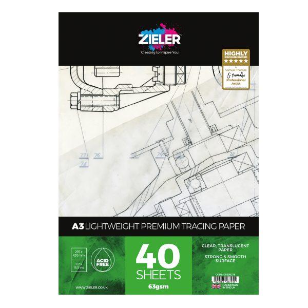 A3 Lw Tracing Scaled - Zieler Art Supplies