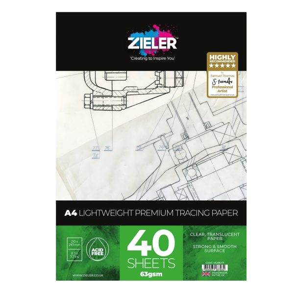 A4 Lw Tracing Scaled - Zieler Art Supplies