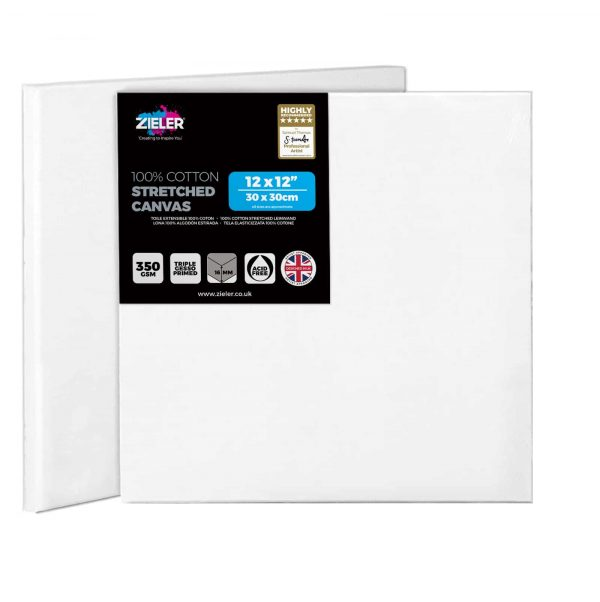 30Cm X 30Cm Blank Canvas