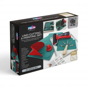 Zieler Lino Cutting & Printing Set