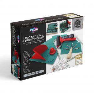 Zieler Lino Cutting & Printing Set