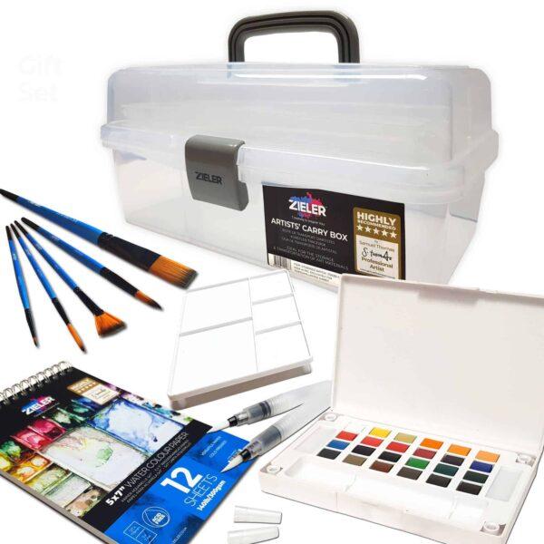 Art Carry Box Watercolour