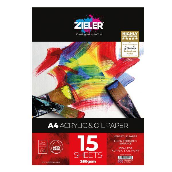 A4 Acrylic Scaled - Zieler Art Supplies