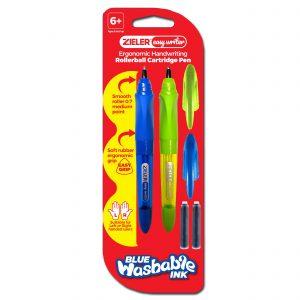Zieler Ergonomic Cartridge Rollerball Pen