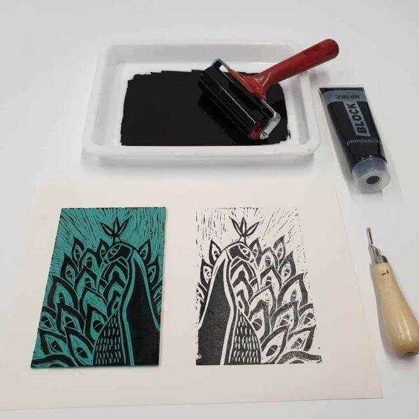 Lino Printing And Lino