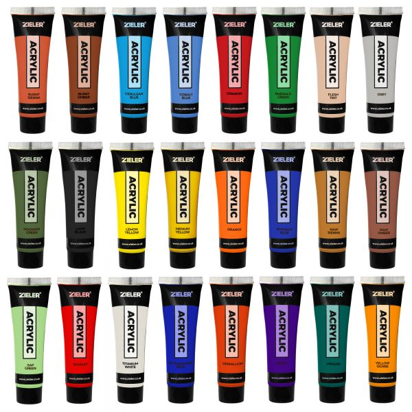 Exceptional Acrylic Painting Set
