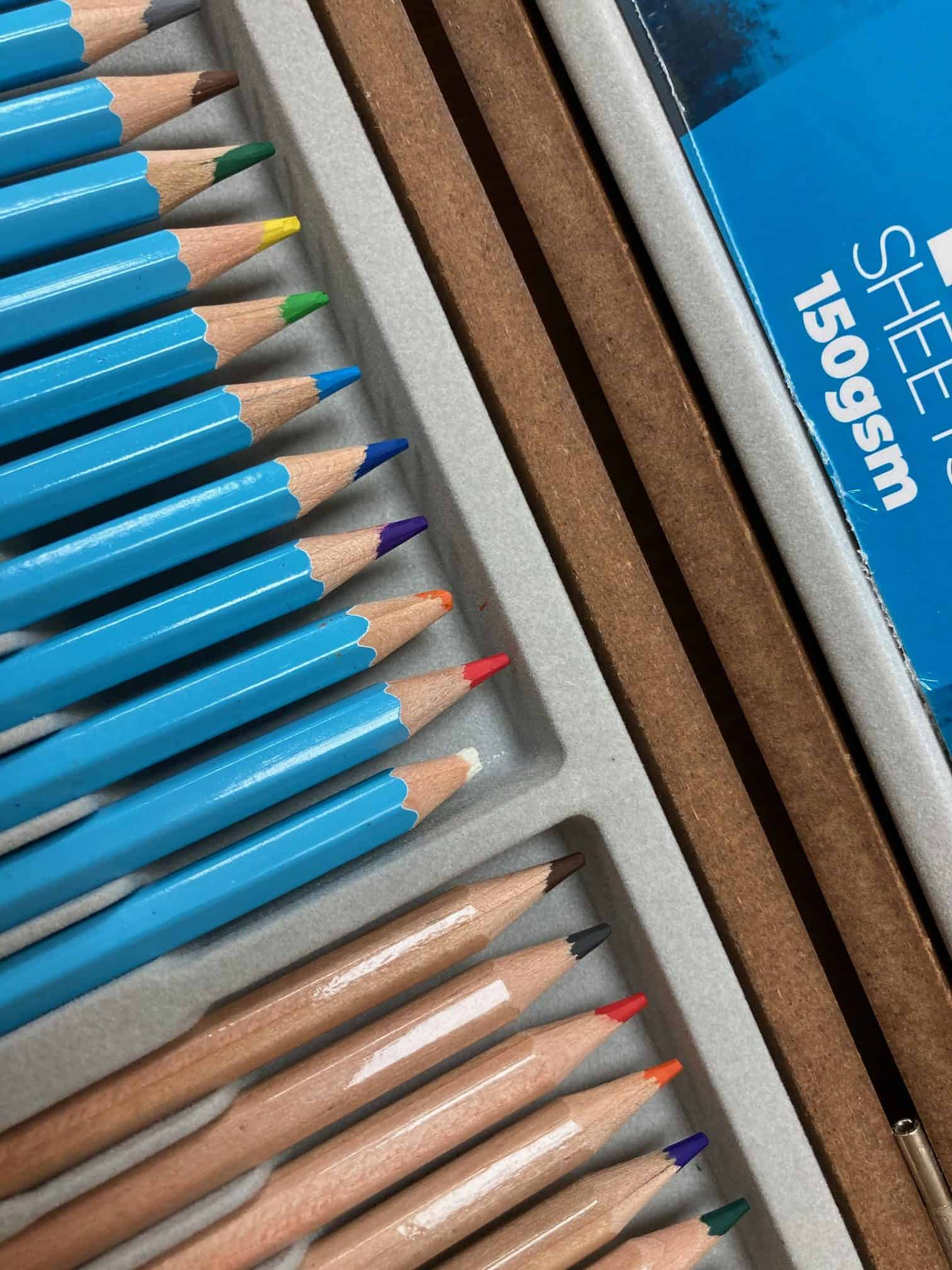 Artist Sketching & Colouring Pencil set (36 Piece) | Zieler