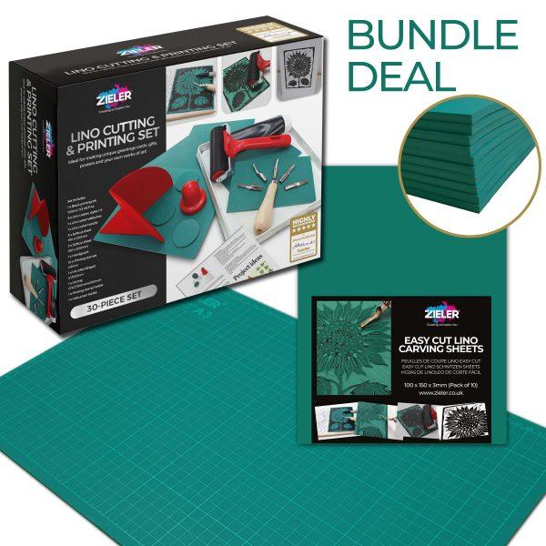 Lino Bundle Scaled - Zieler Art Supplies