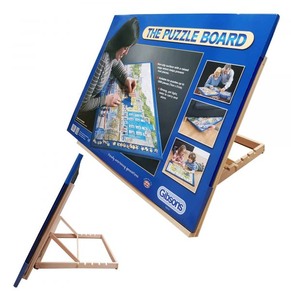 Gibsons Puzzle Board And Zieler A2 Easel