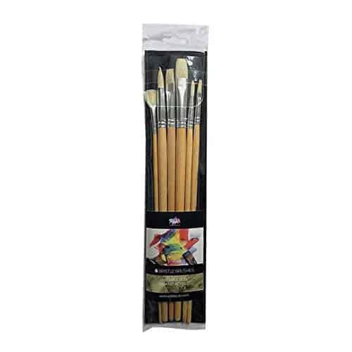 Bristle Long Handle 1 - Zieler Art Supplies