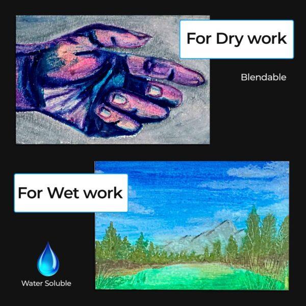 3 Dry Wet Use - Zieler Art Supplies