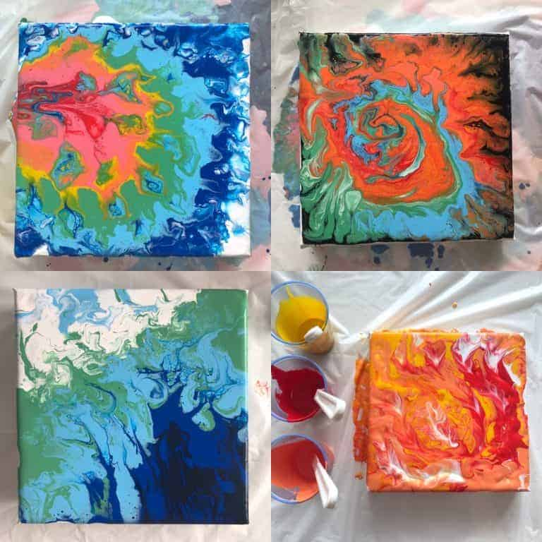 Pouring Art How To Do Acrylic Pouring With Pva Zieler