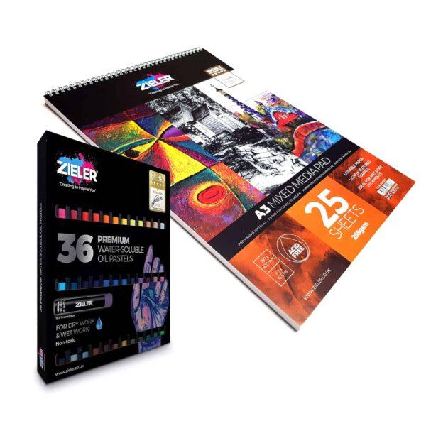 Side 1 - Zieler Art Supplies