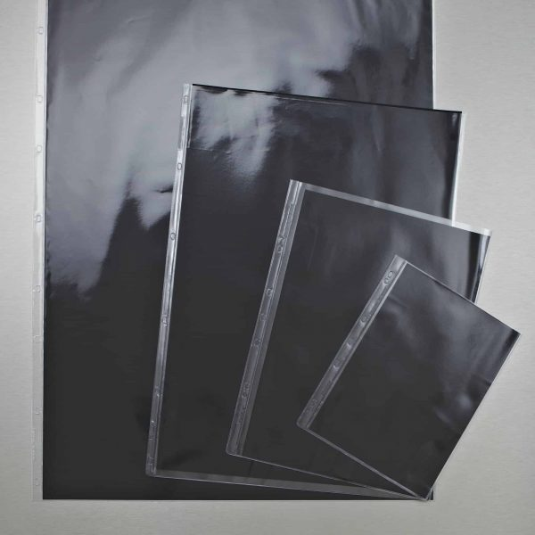 Zieler Jet Art Display Portfolio Sleeves Pack Of 5