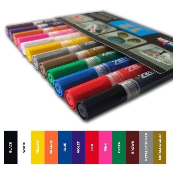 Zieler Single Paint Marker Pens