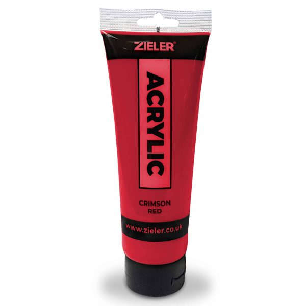 Red Acrylic Paint 250Ml
