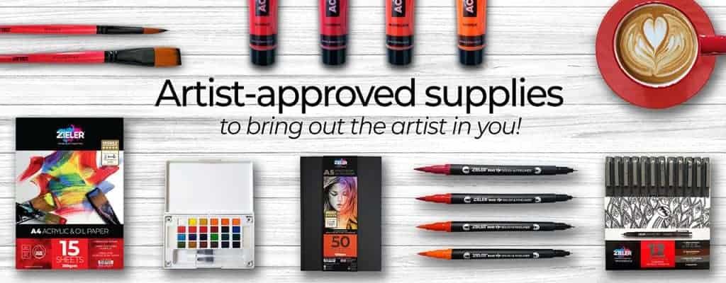 Zieler Art Supplies