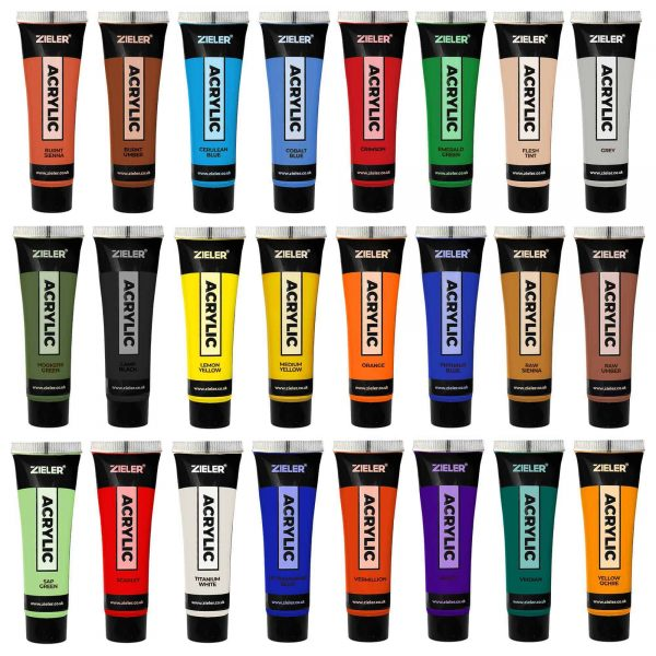 Acrylic Paint Mix And Match