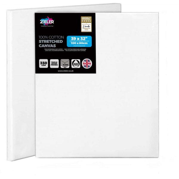 100Cm X 80Cm Blank Canvas