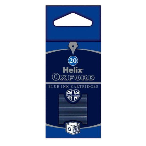 04300265 Blue Ink Cartridge 1 - Zieler Art Supplies