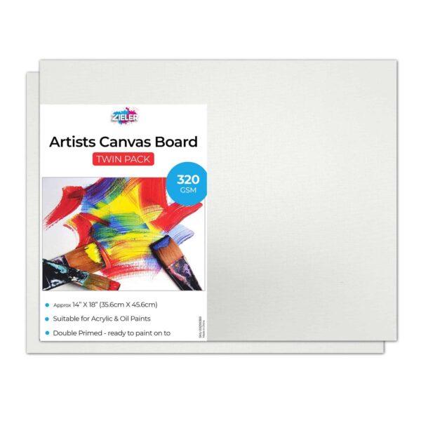 Canvas Board 14X18 Zieler - Zieler Art Supplies