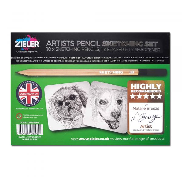Artists Pencil Sketching Set