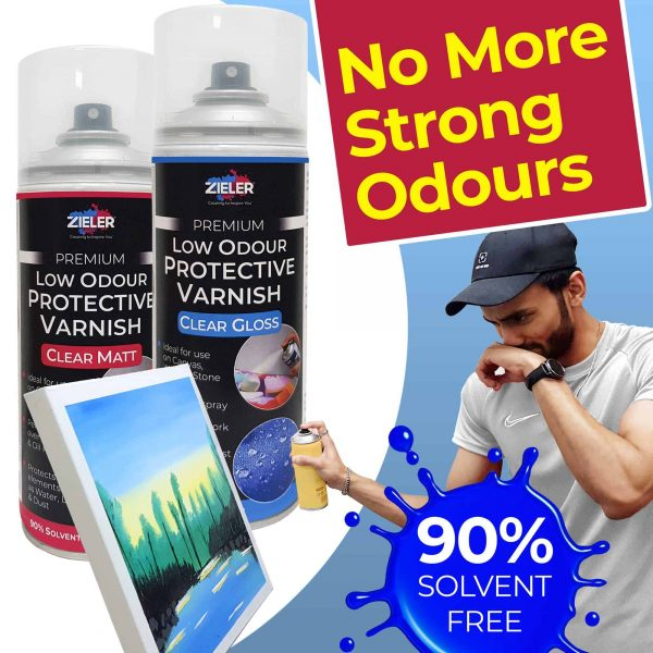 3 Varnish Spray Odour 1 - Zieler Art Supplies