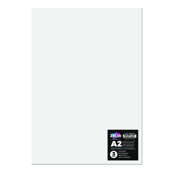 A2 Mount Board White