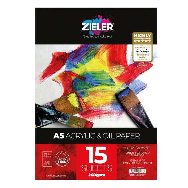 A5 Acrylic Scaled - Zieler Art Supplies