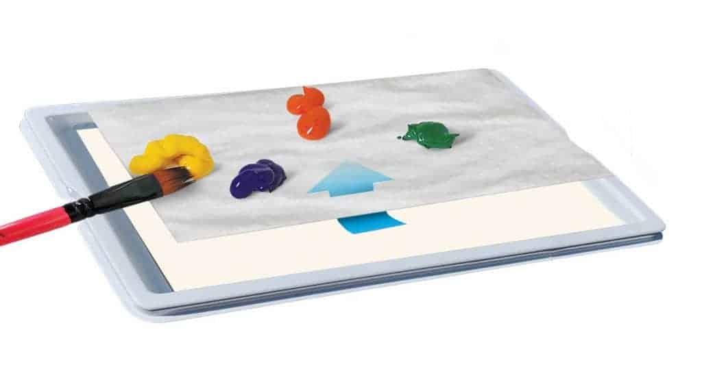 Acrylic Paint Palette 2 - Zieler Art Supplies