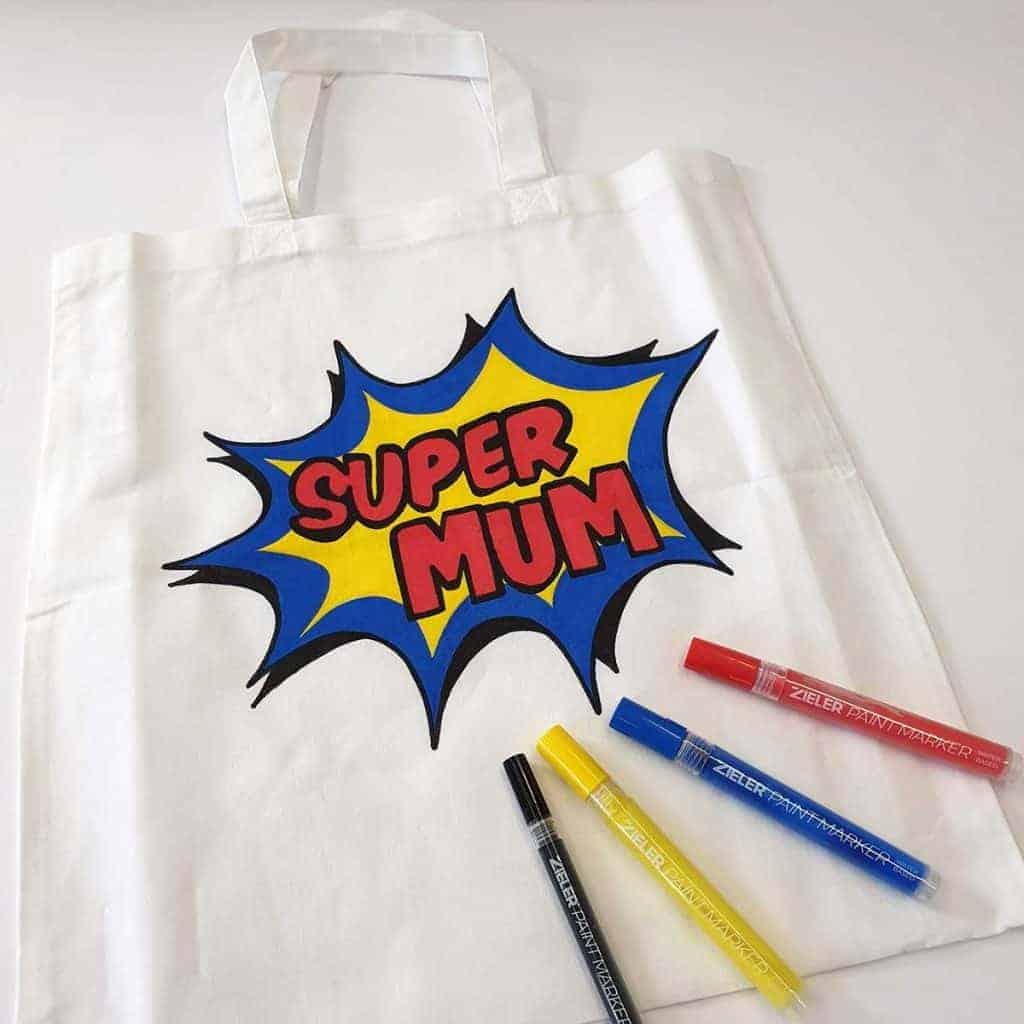 Acrylic Paint Pen Tote Bag
